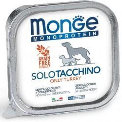 Pâtée SOLO Dinde 24x150 grs Monge Dog