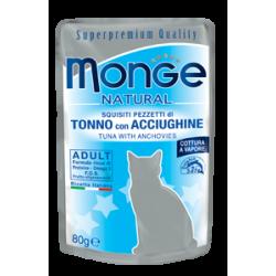 Poche thon/anchois pour chat 24x80grs