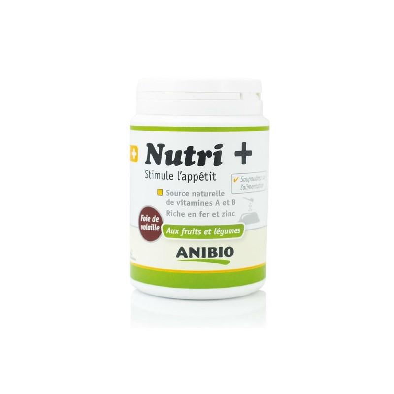 Nutri +120 grs ANIBIO Stimule l'appétit