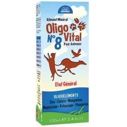 Oligo Vital n°8 Etat général 100 ml