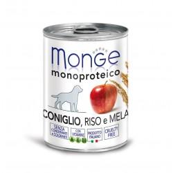 Monge Dog Fruit 400grs x 24 LAPIN / RIZ / POMME