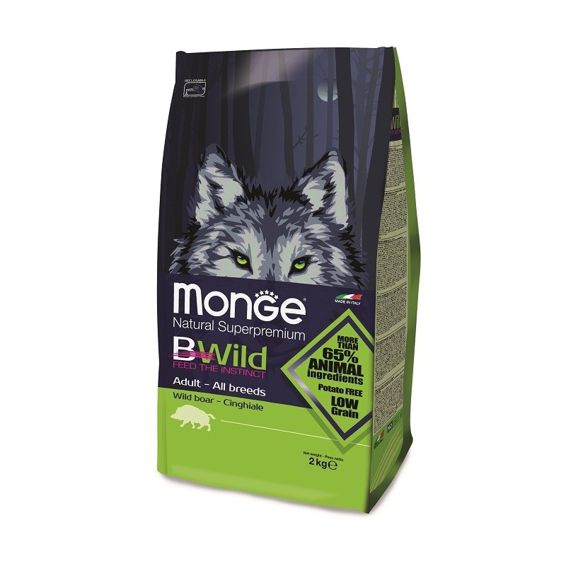 BWild Adulte Sanglier ALL BREEDS 2 kg 29/17