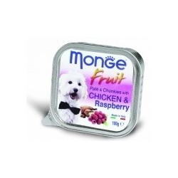 Monge Dog Fresh FRUITS 32 x 100 grs