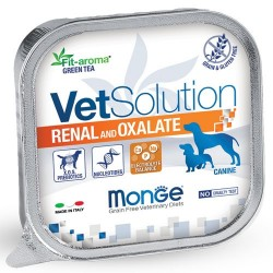 Pâtées Chien VET Solution RENAL and OXALATE 12 x 150 grs