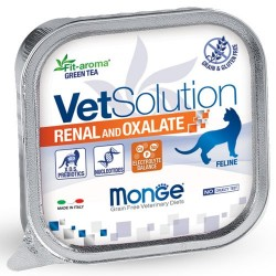 Pâtées Chat VET Solution RENAL and OXALATE 12 x 100 grs