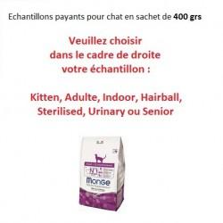 Echantillons croquettes CHAT - sachet de 400 grs