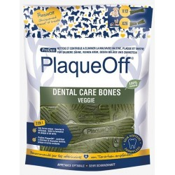 Os à mâcher Dental Care Bones Veggie PlaqueOff 485 g