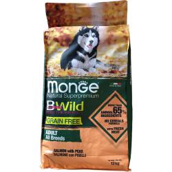 Saumon Adult 2,5 kg Bwild Grain Free Monge