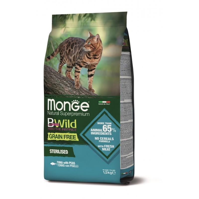 Chat Thon Bwild Grain Free 1,5 kg