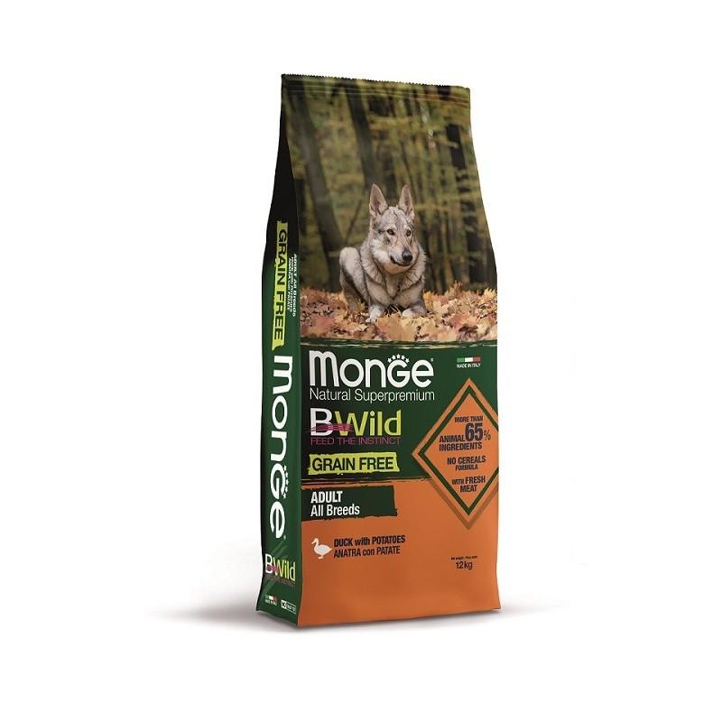 Bwild Grain Free Canard 12 kg All Breeds