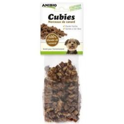 Friandises morceaux de Canard 100 grs Cubies