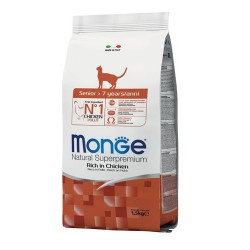 Croquettes Chat Adulte Senior 1,5 kg